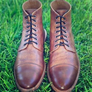 TAFT Rome Boot in Brown - EU Size 44 (US Size 11).